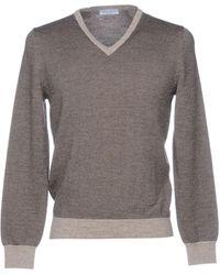 Gran Sasso Pullover - Grau