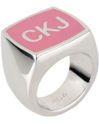 Calvin Klein Ring - Pink