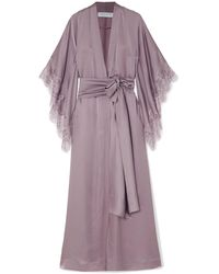 Carine Gilson Dressing Gown - Purple