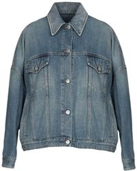 MM6 by Maison Martin Margiela - Capospalla jeans - Lyst