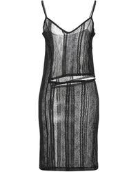 Ann Demeulemeester Short Dress - Black