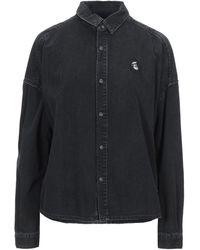 Maison Scotch Denim Shirt - Black