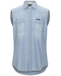 Roy Rogers Camicia jeans - Blu