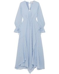 3.1 Phillip Lim Langes Kleid - Blau