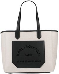 Karl Lagerfeld Handbag - Natural