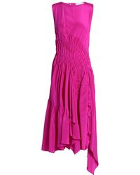 Koche Knee-length Dress - Pink