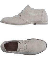 Pantanetti Lace-up Shoe - Grey