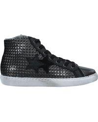2Star High Sneakers & Tennisschuhe - Schwarz