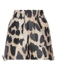 Ganni Shorts - Natural