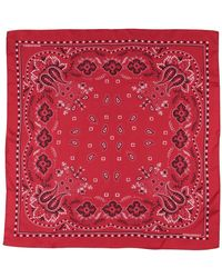 DSquared² Square Scarf - Red
