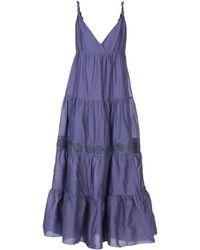 Armani Jeans - Long Dress - Lyst