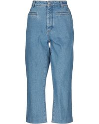 Loewe Denim Pants - Blue