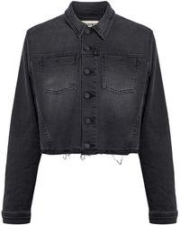 L'Agence Capospalla jeans - Nero