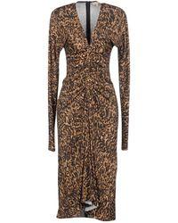 Michael Kors 3/4 Length Dress - Multicolour