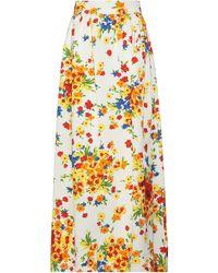 Miu Miu Long Skirt - White