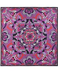 Lancel Square Scarf - Purple