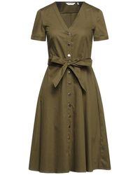 Naf Naf Midi Dress - Green