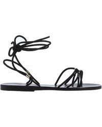 Ancient Greek Sandals Sandales - Noir