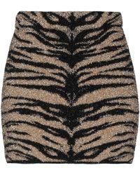 Laneus Mini Skirt - Metallic