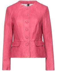 Vintage De Luxe Suit Jacket - Pink
