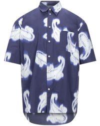 MSGM Camicia - Blu