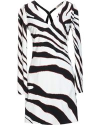 Roberto Cavalli Short Dress - White