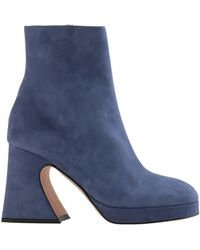 Sies Marjan Ankle Boots - Blue