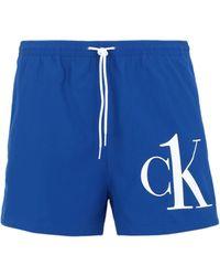 Calvin Klein Short de bain - Bleu