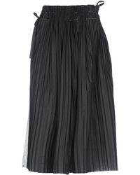 Malloni 3/4 Length Skirt - Black