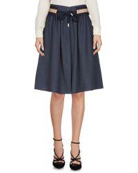 Sessun - Knee Length Skirt - Lyst