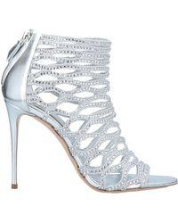 Casadei Shoe Boots - Metallic