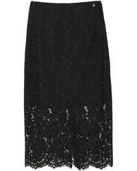 Blugirl Blumarine Midi Skirt - Black