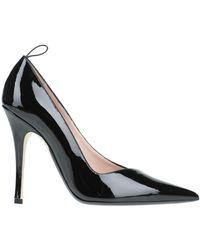 N°21 Court Shoes - Black