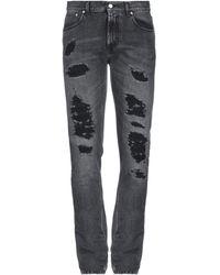 Alexander McQueen Pantalon en jean - Noir