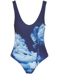 Orlebar Brown One-piece Swimsuit - Blue