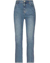 Victoria Beckham Denim Trousers - Blue