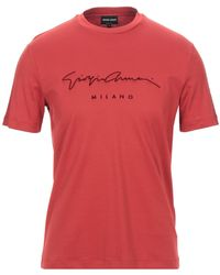 Giorgio Armani T-shirt - Rouge
