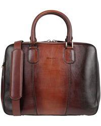 Santoni Work Bags - Brown