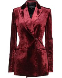 Ann Demeulemeester Suit Jacket - Red