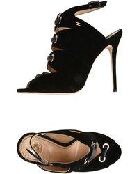 Elisabetta Franchi Sandals - Black