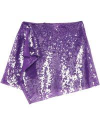 Alberta Ferretti - Mini Skirt - Lyst