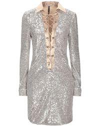 Manila Grace - Short Dress - Lyst