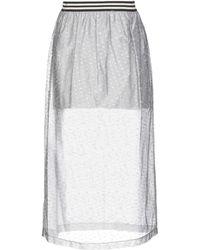 Jijil - 3/4 Length Skirt - Lyst
