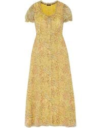 R13 Long Dress - Yellow
