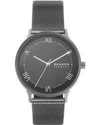 Skagen Armbanduhr - Grau