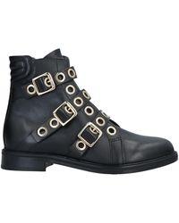 Maje Ankle Boots - Black