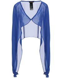 Hanita Wrap Cardigans - Blue