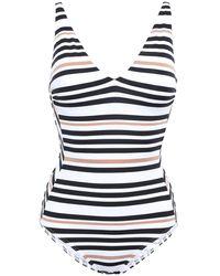 Jets by Jessika Allen One-piece Swimsuit - White