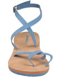 O'neill Sportswear Toe Strap Sandals - Blue