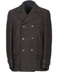 Eleventy Coat - Brown